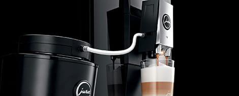 Jura Ingenious dual spout with fine foam technology height-adjustable dual spout