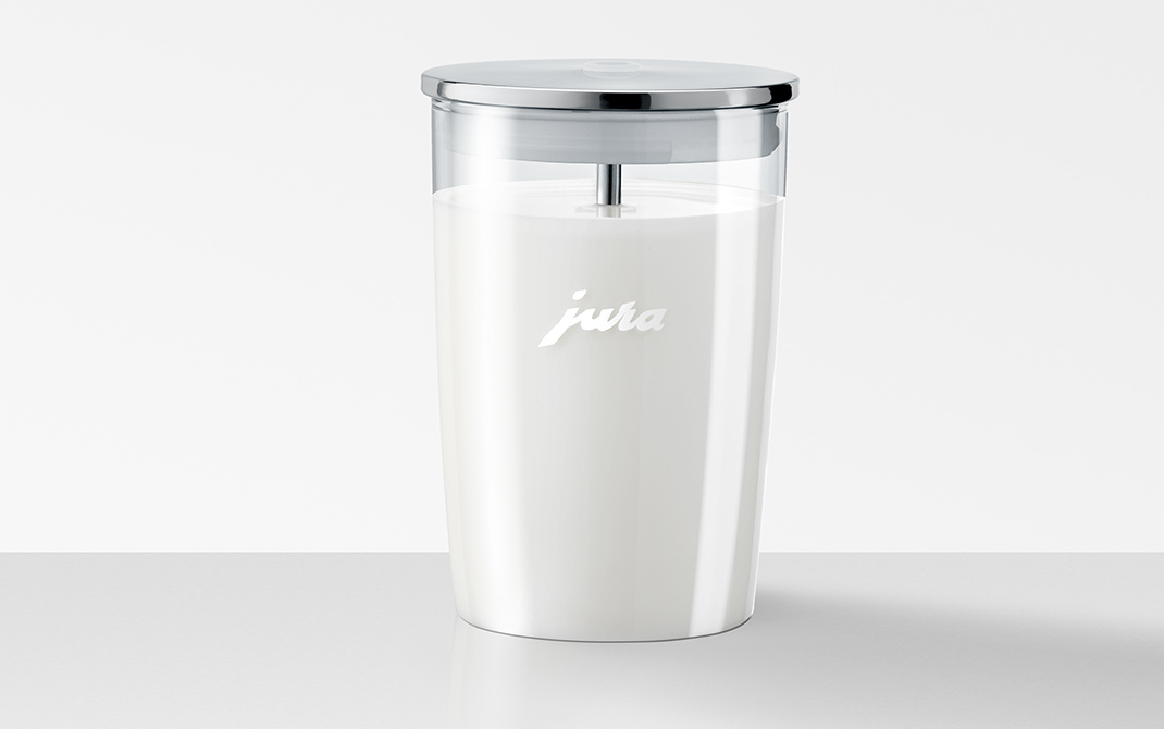 Jura milk container is made from high quality materials